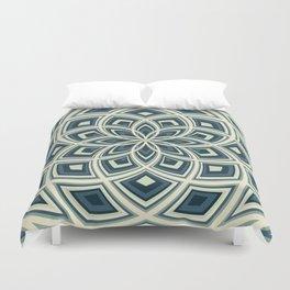 Spiral Rose Pattern E 4/4 Duvet Cover