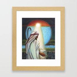I AM the Good Shepherd Framed Art Print