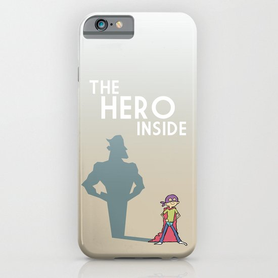 The Hero Inside iPhone & iPod Case