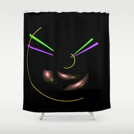 Light and Energy 100 Shower Curtain