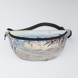 12,000pixel-500dpi - The Tenderfoot - Charles Marion Russell Fanny Pack