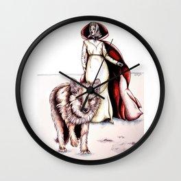 Follow Me, Said the Fox Wall Clock