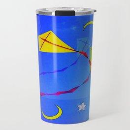 colorful sky Travel Mug