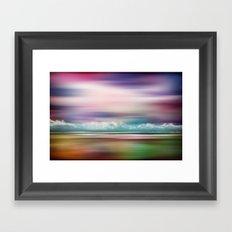 Rainbow-Scape Framed Art Print