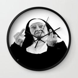 Nun Of It Wall Clock