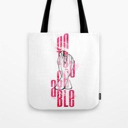 Untouchable Tote Bag