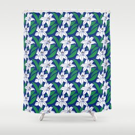 Japanese Pattern 4 Shower Curtain