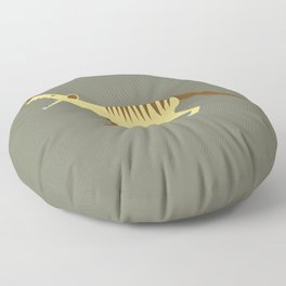 EXTINCT: Thylacine (Tasmanian Tiger) Floor Pillow