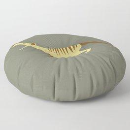 EXTINCT: Thylacine (Tasmanian Tiger) Floor Pillow