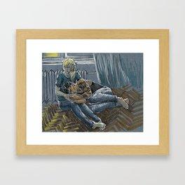 Altynai Framed Art Print
