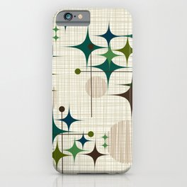 Starbursts and Globes 1 iPhone Case