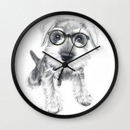 Nerdy Schnozz Wall Clock