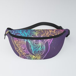 Magical mystery elephant Fanny Pack