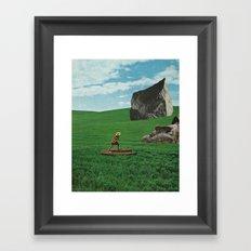 Grasslands Framed Art Print
