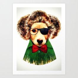 Dog ( Ben) Art Print
