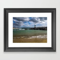 Aguadilla coast 2 Framed Art Print