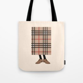 Check out Mr. Check Tote Bag