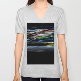 The Night At High Speed Unisex V-Neck