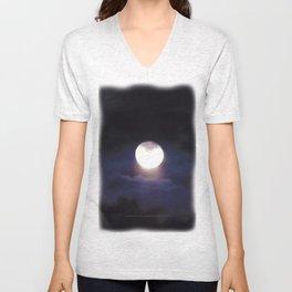 The Moon (Energize Me) - Jeronimo Rubio Photography 2016 Unisex V-Neck