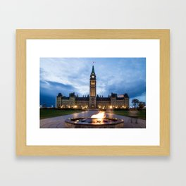 Parliament of Canada Framed Art Print