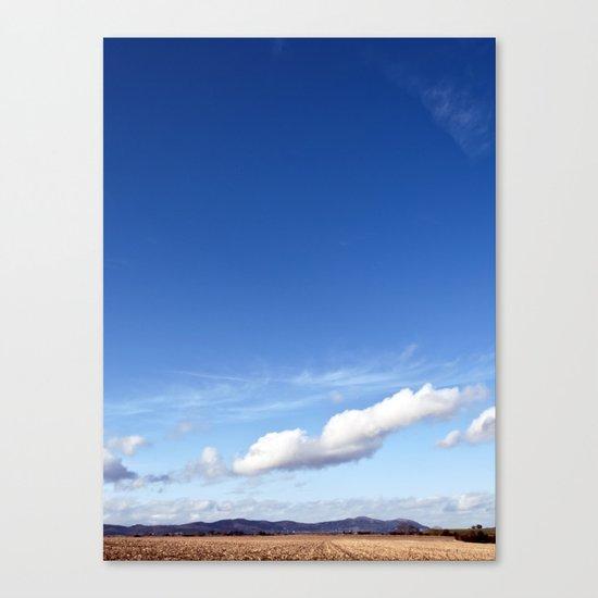 with a sky blue sky... Canvas Print