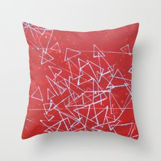 in Pieces Throw Pillow
