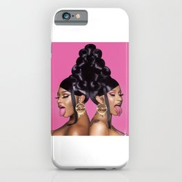 Cardi B Megan Thee Stallion iPhone Case