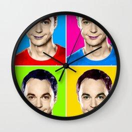 Jim Parsons pop art! Wall Clock