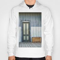 bathroom Hoodies featuring Bathroom Doors by Agrofilms