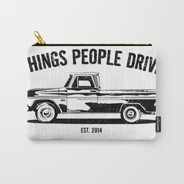 Chevy C10 pickup illustration Carry-All Pouch