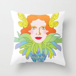 Futility Cornucopia Throw Pillow