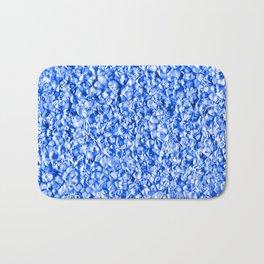 Blue Plastic Ocean Bath Mat