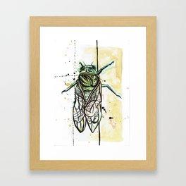 Cicada Abstract Art Prints  Framed Art Print