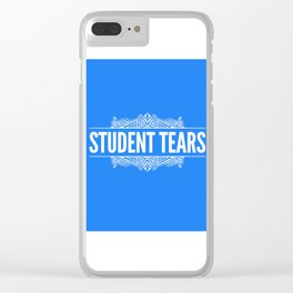 Student Tears Clear iPhone Case