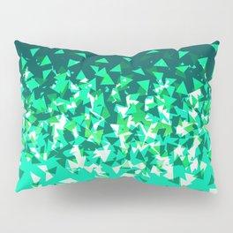 Green Disintegrate Pillow Sham