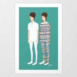 Tegan and Sara: Call It Off Art Print