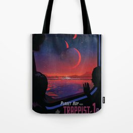 NASA Visions of the Future - Planet Hop from Trappist-1e Tote Bag