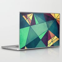 starry night Laptop & iPad Skins featuring Starry Night by VessDSign