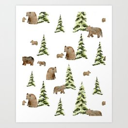 Can't Bear It Art Print