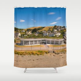 Seafront Cafe Shower Curtain
