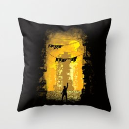 Gamers Paradise Throw Pillow