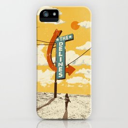 THE DELINES - Official Merch Poster iPhone Case