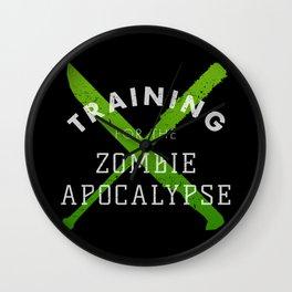 Training: Zombie Apocalypse Wall Clock