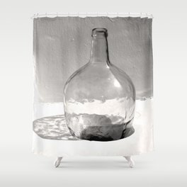 Still Life (Bottle) Shower Curtain