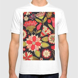 Blooms Butterflies and Ladybugs T-shirt