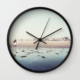 Ocean Beach, San Diego Wall Clock