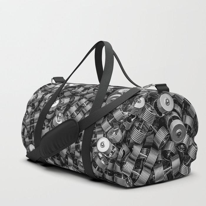 Chrome dumbbells Duffle Bag