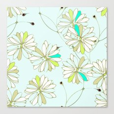 Breezy Floral Canvas Print