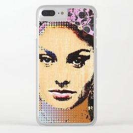 sophia+4 Clear iPhone Case
