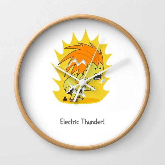 Electric Thunder! Wall Clock